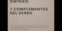 COMPLEMENTOS DEL VERBO - COMPLEMENTOS DE RÉGIMEN
