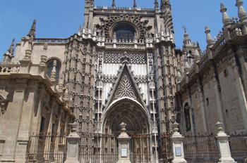 Puerta de San Cristóbal, Catedral de Sevilla, Andalucía