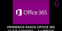 Primeros pasos con Office365