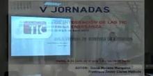 Ponencia de D. Josué Moreno y D.Javier Claros. <<Aula virtual en Jefatura de Estudios>>