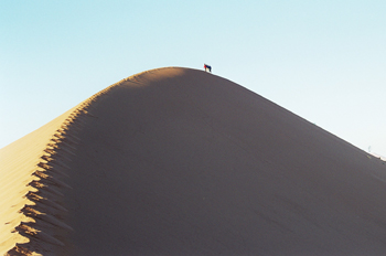 Cremallera en la duna, Namibia