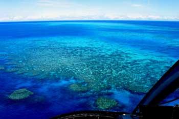 La Barrera del Coral desde el aire, Australia