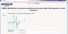 Talento Matemático Catedrático Arias Cabezas: Funciones 4ESO y Bachilleratos