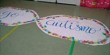 Día del autismo en el Rosa Montero. Talleres