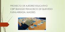 Ajedrez educativo