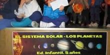 LOS PLANETAS. 5 AÑOS