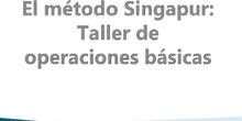 Método Singapur: operaciones básicas de cálculo para primer ciclo