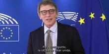 MENSAJE DE SASSOLI A LAS ESCUELAS EMBAJADORAS DEL PARLAMENTO EUROPEO. IES REY PASTOR