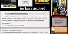 IES LARRA VI CERTAMEN MICRORRELATOS 2016