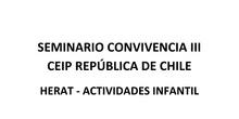 ACTIVIDADES DEL PLAN DE CONVIVENCIA III