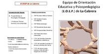 Información del Equipo de Orientación Educativa La Cabrera
