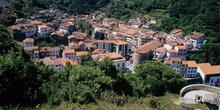 Vista general de Cudillero, Principado de Asturias