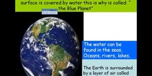 Planets, planet Earth and landscapes on Earth