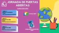 Jornada de Puertas Abiertas 2021-2022