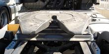 Vehículos industriales. Plataforma de enganche de remolque