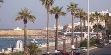 Paseo marítimo, Monastir, Túnez