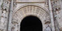 Portada de la Basílica de Santa María, Pontevedra, Galicia