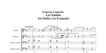 Análisis de los ornamentos en el Gravement de La Française, F. Couperin