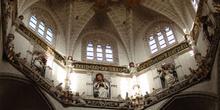 Interior de cúpula, Seo de Zaragoza