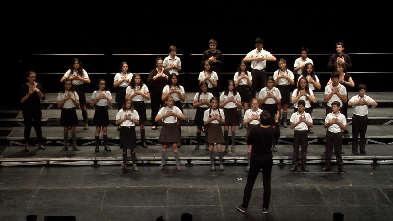 Acto de clausura del XIV Concurso de Coros Escolares de la Comunidad de Madrid 25