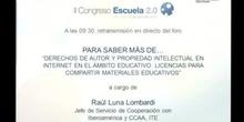 Derechos de autor y propiedad intelectual en internet en el ámbito educativo. Licencias para compartir materiales educati