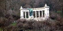 Estatua de San Gerardo, Colina Gellert, Hungría, Budapest