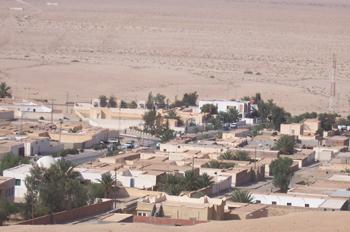 Vista general, Chébika, Túnez