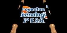 """Proyectos de Tecnología 1º ESO: \""""Juguetes con mecanismos\"""""""