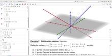 ¿Cómo hacer un ejercicio de geometría EvAU con Geogebra? (2/4)