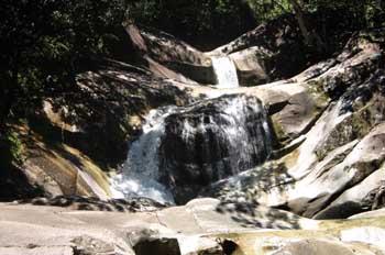 Río en la selva de Queensland, Australia