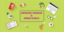 LOS DECIMALES 4. COMPARACIÓN Y ORDENACIÓN DE DECIMALES
