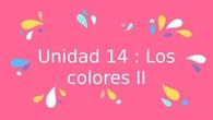Los colores II