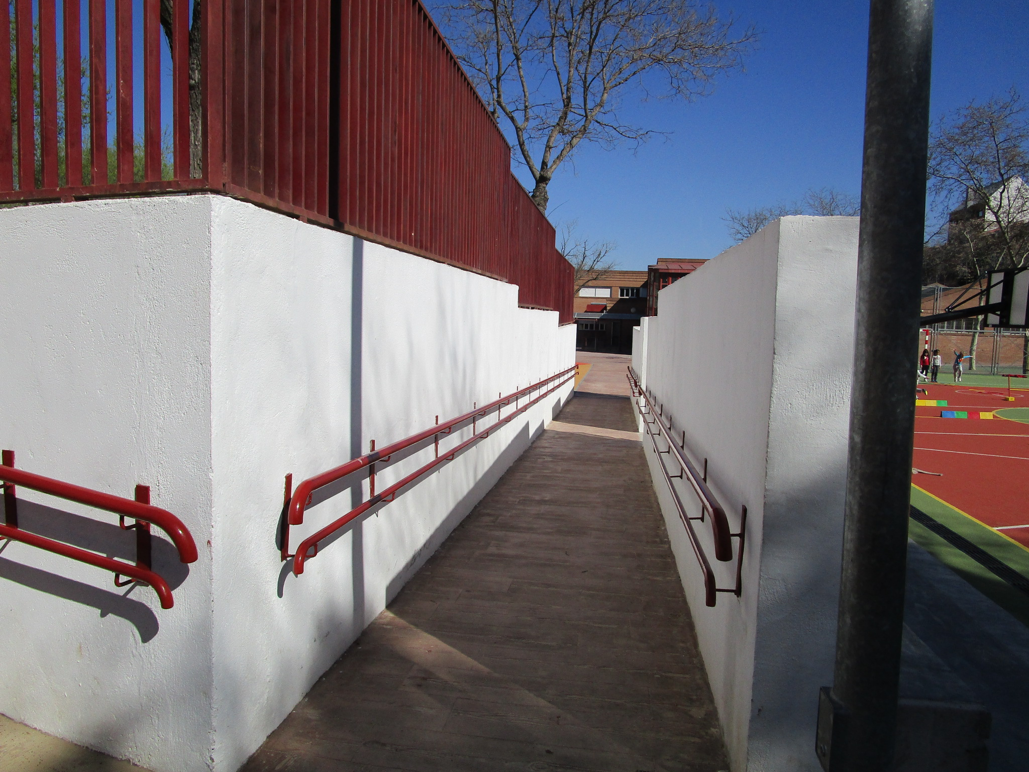RAMPA PATIO CORRALITO