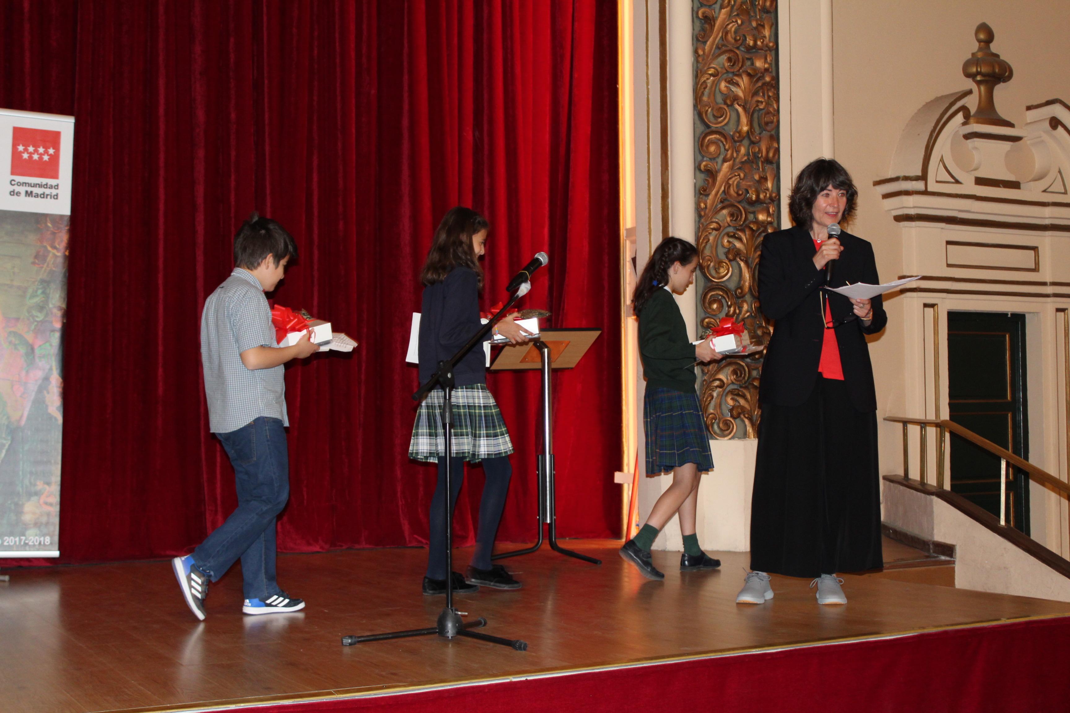 Acto de entrega de premios de Narración y Recitado de Poesía 47 (Foto)