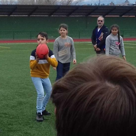 Actividad de rugby para 5º 1