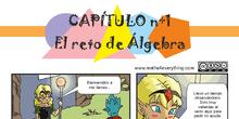 1ºA y 1ºE El reto de Álgebra. 1º ESO