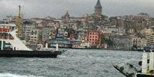 Excursión sobre el Bósforo, vista de la ciudad, Estambul, Turquí