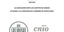 La asociación entre los subtipos de cáncer de mama y la variación en el número de copias (CNV)