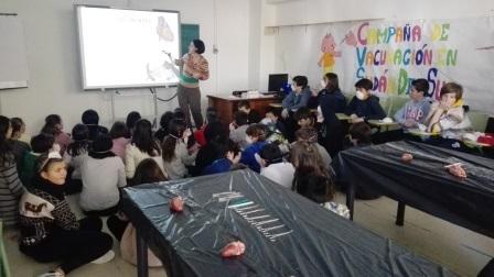 2018_02_09_DISECCION CORAZON Y PULMONES_SEXTO_CEIP FDLR_LAS ROZAS 2