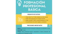 Admisión en Formación Profesional Básica