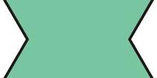 Polígono estrellado. 6 puntas