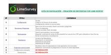 0. Encuestas con LimeSurvey - Guía del Curso