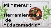 Mi menú de Educamadrid