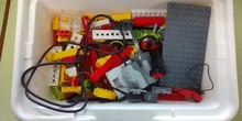 Lego WeDo: primeros programas y listas de piezas - Grabado con bq Android (grupo 2))