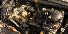 Motor de un automóvil
