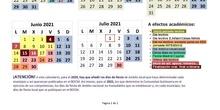 CALENDARIO ESCOLAR 202021