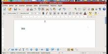 Writer - Cortar, copiar y pegar