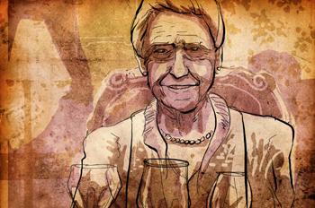 La pella: Cumpleaños de la abuela
