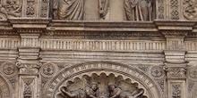 Detalle de la portada de la Basílica del Pilar, Zaragoza
