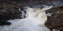 Cascada Mushbow, Parque Natural Wells Gray Country, Clearwater